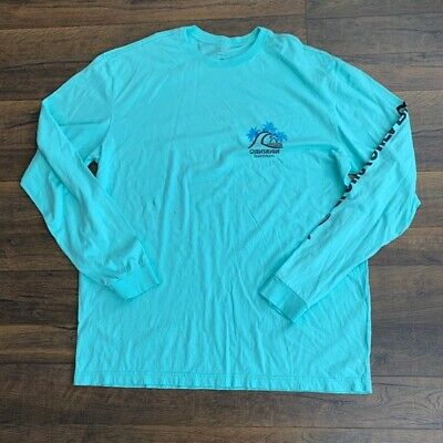 Quiksilver Live On The Edge Tee Blue Nights Quiksilver Men/'s Clothing T-Shirts