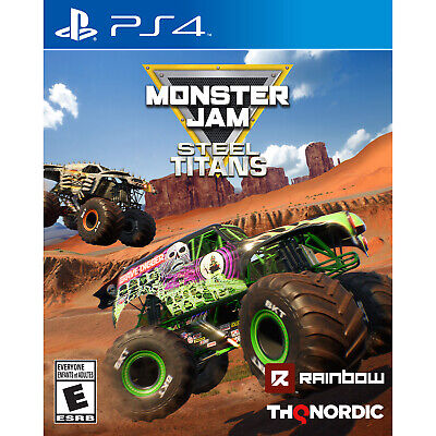 Monster Jam: Steel Titans PS4 [Brand New]
