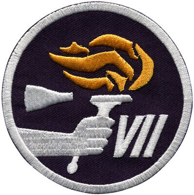 Gemini 7 Mission Embroidered Patch (Official Patch) 7.5cm Dia approx