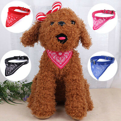 Adjustable pet dog puppy cat neck scarf fashion bandana collar neckerchief YF
