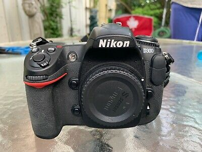 Nikon D300 camera body - (actuations 24357) Charger, Battery, and Manual
