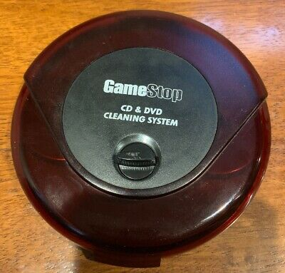 GameStop CD & DVD Cleaning System