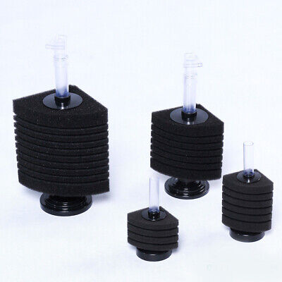 Corner Aquarium Fish Tank Internal Sponge Biological Filter Practical 2 Size