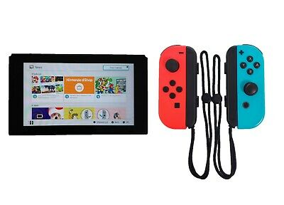 Nintendo Switch 32GB Gray Console with Neon Red/Neon Joy-Cons HACSKAAAA ENW20
