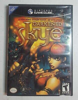VIDEO GAME COMPUTER PC CD Rom DARKENED SKYE Disc - $6 99