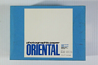 Oriental Seagull G-2 Bromide Photography Paper 5 x 7 250 Sheets Unopened NOS