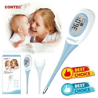 Digital Electronic Thermometer Kids Adult LCD Alarm Thermometer Temperature Hot