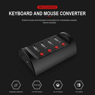 f1986719146 IPEGA Keyboard Mouse Wired Adapter Converter for PG-9133 Switch/ PS4/XBOX  ONE