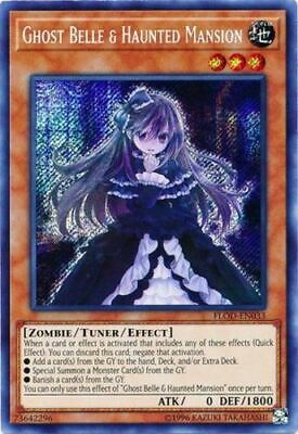 1x - Ghost Belle & Haunted Mansion - FLOD-EN033 - Secret Rare - Unlimited Editio