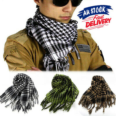 Arab Army Tactical Scarf Shemagh KeffIyeh Military Palestine Neck Scarf