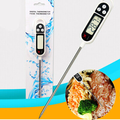 Digital Probe Meat Milk Food Temperature Thermometer Tools Kitchen Cooking BBQ