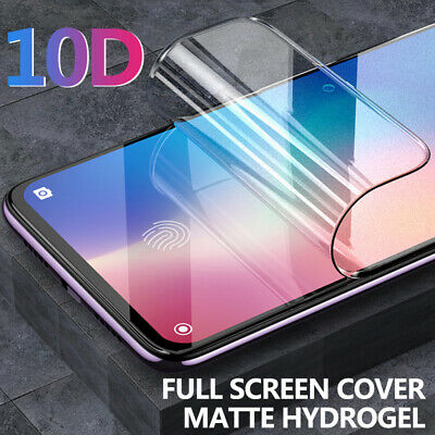10D Matte Hydrogel Film Screen Protector For Xiaomi Redmi Note 7 K20 Pro Mi 9 9T