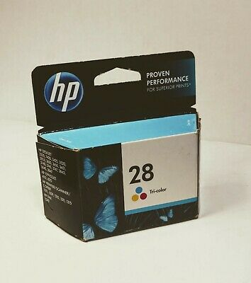 New Genuine 28 Tri-Color Hewlett Packard Ink Cartridge (C8728AN/140) exp 02/17