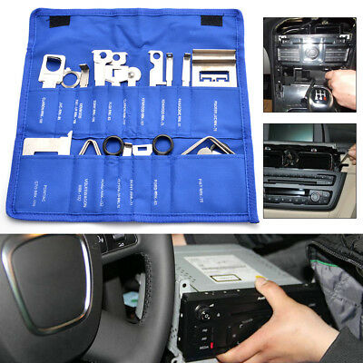 38X Car Stereo Release Removal Keys Set Vehicle CD Radio Head stainless steel