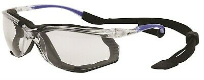 Protector CLEAR S56CDGR SAFETY SPECTACLE WITH DUST GUARD Anti-Scratch Lens