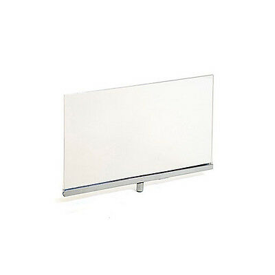Sign Holder Frame in Clear Finish 11 x 7 Inches - Lot of 10