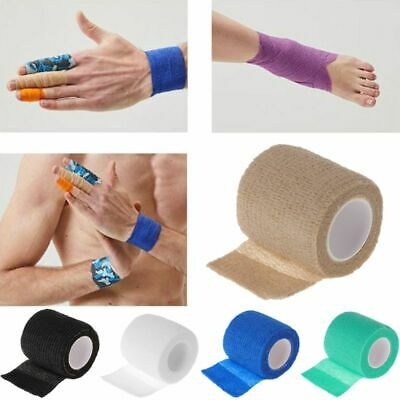 1 Roll 5cm Disposable Tattoo Self-adhesive Elastic Grip Bandage Wrap Sport Tape