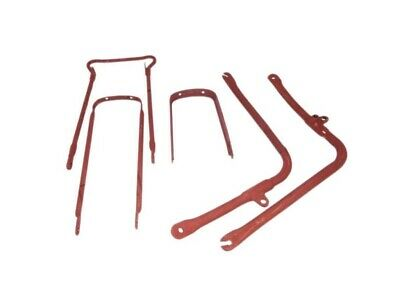 New Bsa B31 B33 A10 A7 Plunger Model Front / Rear Bare Metal Mudguard Stays