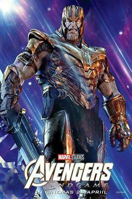 Avengers Endgame THANOS movie 27x40 DS Light Box banner poster marvel studio