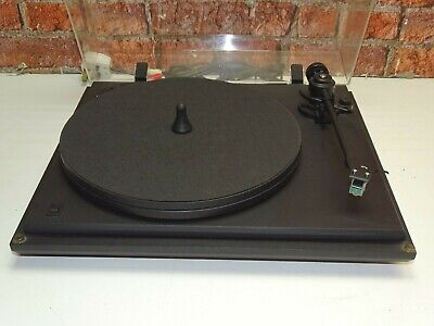 Revolver Rebel 2 Speed Belt Drive Vintage Vinyl Turntable Record Player Deck