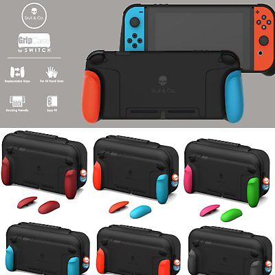 Skull&Co. Ergonomic Case Grip Shell Cover Body Storage Bag For NS Switch Console