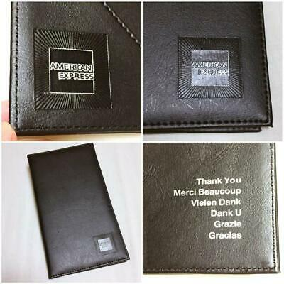 AMEX American Express Platinum card limited Clipboard Novelty Rare 100% AUTH F/S