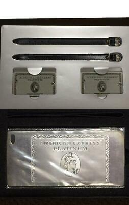 American Express Centurion platinum card limited baggage name tag New in box