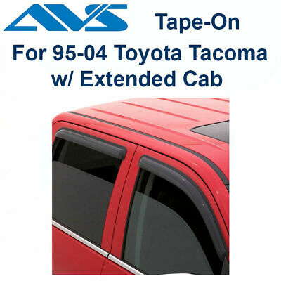 AVS Auto Ventshade 92430 2pc Tape-On Ventvisors for 2016-2017 Toyota Tacoma