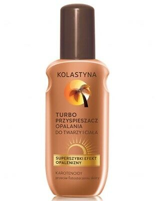 Kolastyna Turbo tanning accelerator for face and body 150 ml