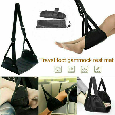 Comfy Hanger Travel Airplane Footrest Hammock Carry Foot Rest Relax Pillow AU