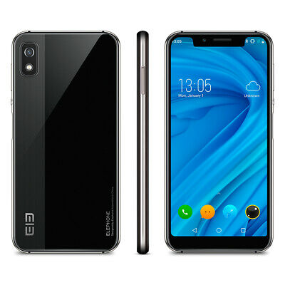 "5.85"" Elephone A4 Pro 4G Smartphone Android 8.1 4GB + 64GB 16MP Huella Dactilar"
