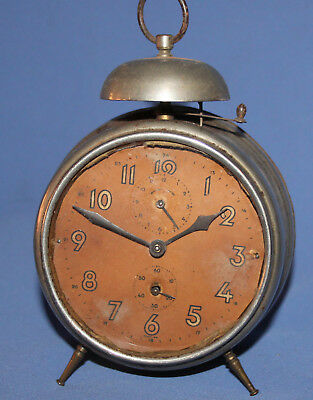 Antique Hamburg American Sohne Uhrenfabrik Schramberg Germany clock