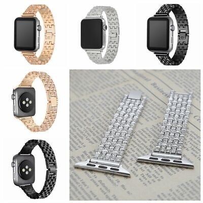 for Apple Watch series 4 3 2 1 stainless steel strap for iWatch band wrist band