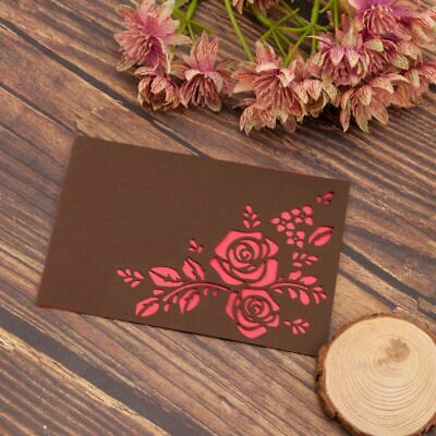 Rose Flower Metal Cutting Dies Stencil DIY Paper Card Embossing Crafts Decor New