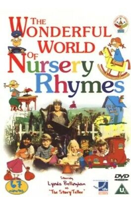 The Wonderful World Of Nursery Rhymes (DVD, 2002) New