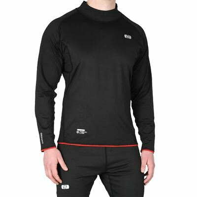 Oxford Thermal Warm Dry High Neck Motorcycle Base Layer Bike Under Top Shirt