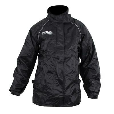 ARMR Moto Rainwear All Weather Motorcycle Bike Over Jacket Waterproof Hi Vis New