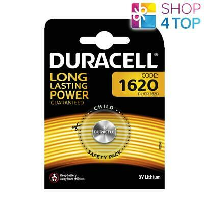 Duracell Cr1620 Lithium Batteries 3V Coin Cell Dl1620 Exp 2027 New