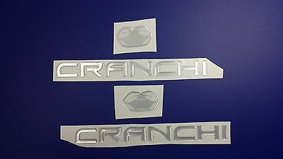 "CRANCHI boat Emblem 10"" Epoxy Stickers Resistant to mechanical shocks"