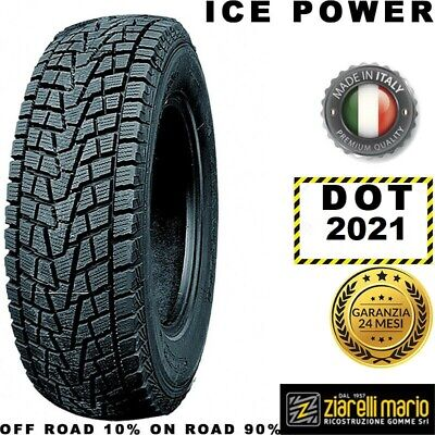 Pneumatici Ziarelli 245/75 R17 116T ICE POWER M+S DOT 2019 *RICOSTRUITA IN IT...