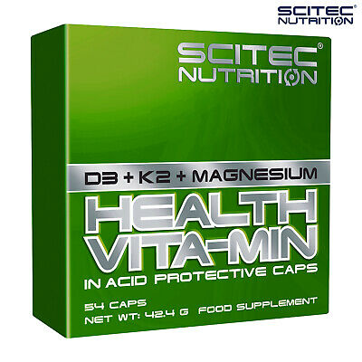 VITAMIN D3 + K2 + MAGNESIUM - Muscular System Support - Fat Loss Strong Bones