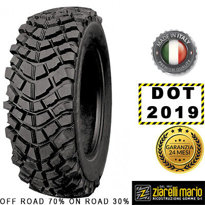 Pneumatici Ziarelli 6.50 R16 119H MUD POWER M+S DOT 2019 *RICOSTRUITA IN ITALIA*