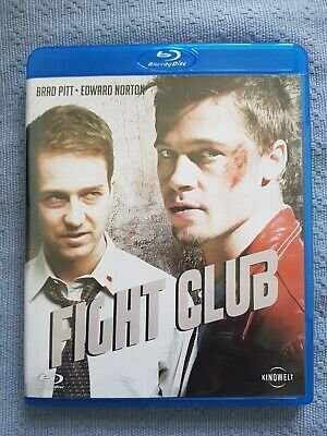 Fight Club | Bluray | Brad Pitt Edward Norton | Disc Zustand 》 Neuwertig