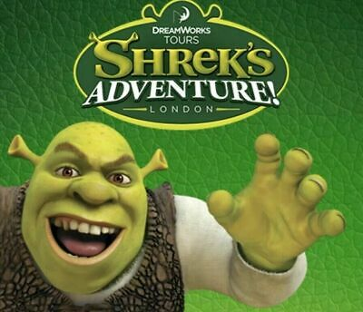 Shrek Adventure Tickets - London - Adult or Child - FRIDAY 13TH SEPTEMBER 2019