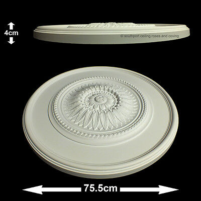 75.5cm Diameter, Lightweight Ceiling Rose (made of strong resin not polystyrene)