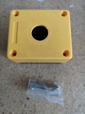Lovato 8L2PP1A5 Single Button Enclosure Box- new old stock dusty boxes