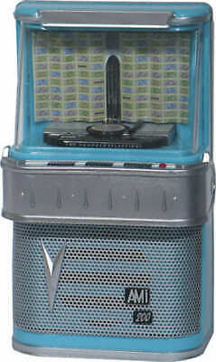 '50s JUKEBOX COLLECTIBLE MINIATURE AMI I-200 LIGHTS AND PLAYS DIANA BY PAUL ANKA