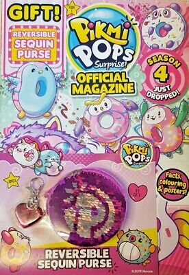 Pikmi Pops Surprise Official Magazine 2019 # 5 = Free Gifts