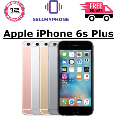 Apple iPhone 6s PLUS - 16/64/128GB (Unlocked) - Grade A/B/C  All Colours