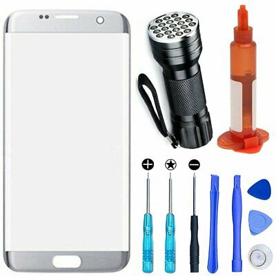 Front Touch Replacement Screen Glass Lens For Samsung Galaxy S7 edge Tools Kit